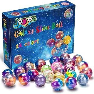 comprar comparacion Joyjoz Galaxy Slime Kit de 24 Paquetes de Gelatina Pegajosa de Masilla Suave Elástica Metálica - para Fiestas de Niños y A...