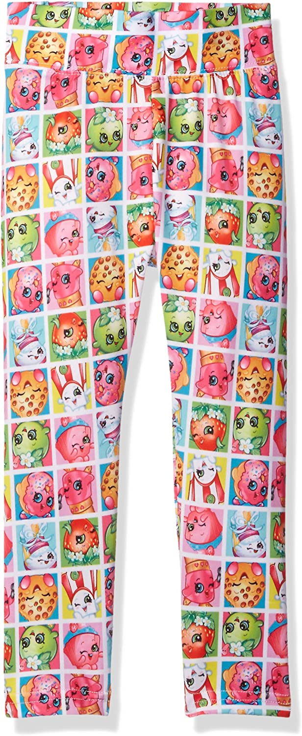 Intimo Girls' Big Stampede Shopkins SEAL limited product Max 60% OFF Leggings