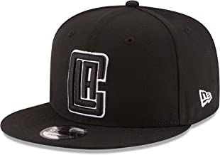 NBA Los Angeles Clippers Men's 9Fifty Snapback Cap, One Size, Black