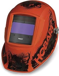 Hobart 770754 Impact Agent Orange Variable Auto-Dark Helmet