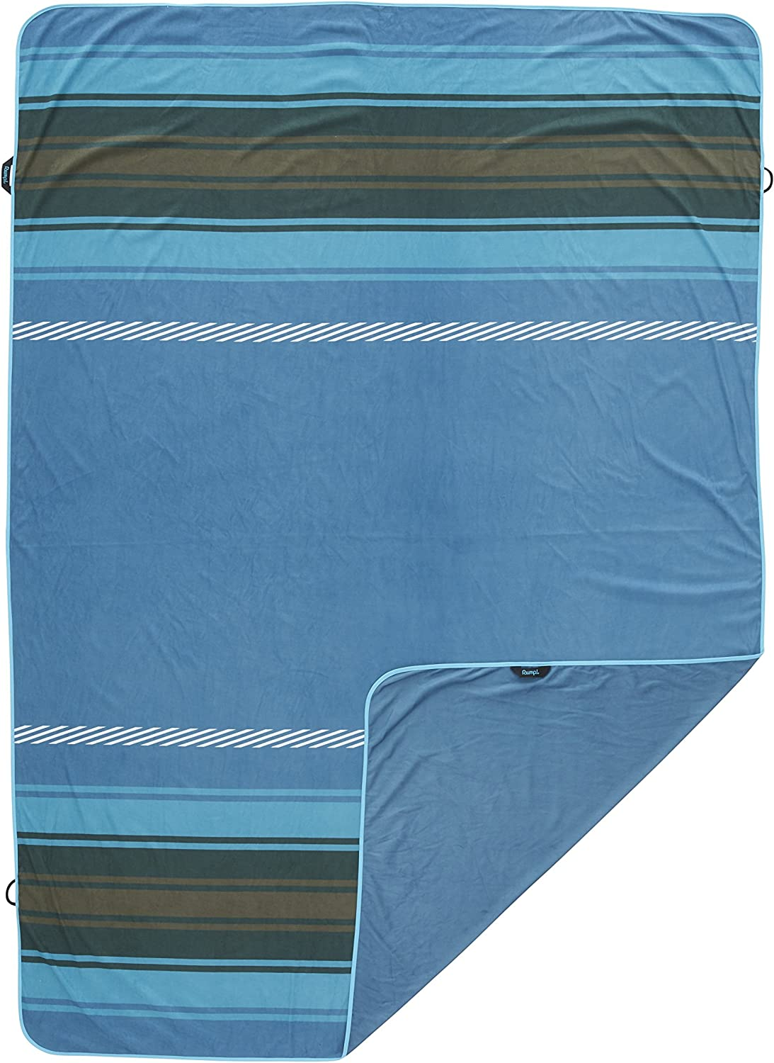 Rumpl The Shammy Towel   Super Absorbent Towel for Travel, Baths, Yoga, Beach Trips, Swimming, Dishes, Sports, and More   2Person, Slate blueee