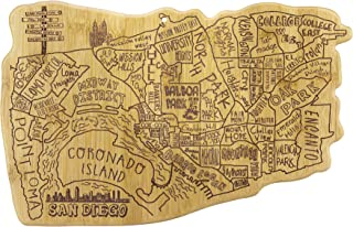 Totally Bamboo San Diego City Life Bamboo Serving and Cutting Board
