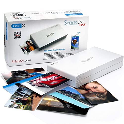 Portable Instant Mobile Photo Printer - Wireless Color Picture Printing from Apple iPhone, iPad or