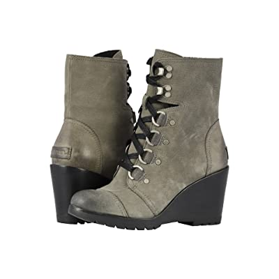 SOREL After Hourstm Lace (Quarry Suede) Women