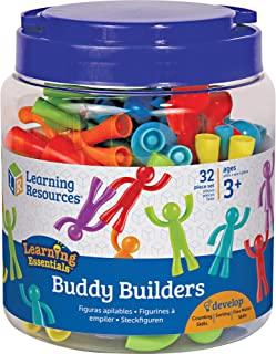 Learning Resources Buddy Builders, 32 Pieces