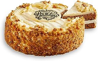 Bake Me A Wish Carrot Cake – Spice Cake w/Carrots, Raisins, Walnuts & Cream Cheese – Happy Birthday