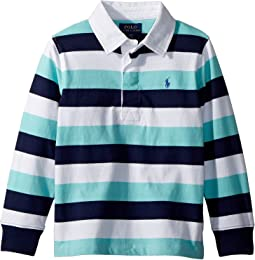 Polo Ralph Lauren Kids - Striped Cotton Jersey Rugby (Toddler)