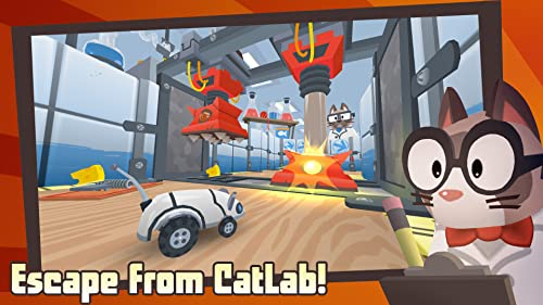 Over 60 thrilling levels to challenge your reflexes Unlock new abilities for MouseBot, including running, jumping, dodging, and transforming for land and water Collect epic piles of cheese Customize MouseBot with new skins, paint jobs, and accessorie...