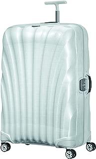 Samsonite 76463 Lite-Locked Spinner FL Hard Side Luggage, Off White, 81 Centimeters