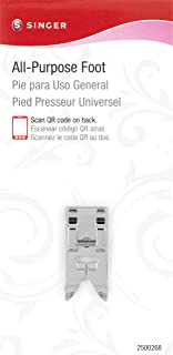 SINGER All-Purpose Snap-On Presser Foot for Low-Shank Sewing Machines