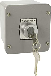 MMTC 1KX-BC Nema 4 Exterior Tamperproof Open-Close Best Cylinder Or Equivalent Key Switch Surface Mount