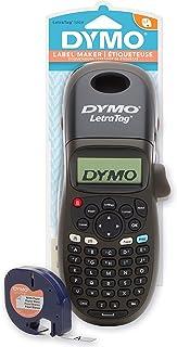 DYMO LetraTag LT-100H Handheld Label Maker | ABC Keyboard Label Printer for Office or Home | Black