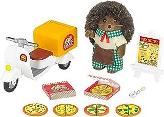 SYLVANIAN FAMILIES- Hedgehog Father Pizza Delivery Set Mini muñecas y Accesorios, Multicolor (Epoch para Imaginar 5238)