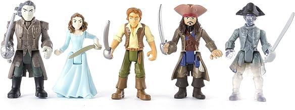 Piratas del Caribe 6037332 Figura (Pack de 5): Amazon.es: Juguetes ...