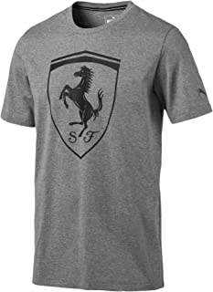 PUMA Men's Scuderia Ferrari Big Shield Tee