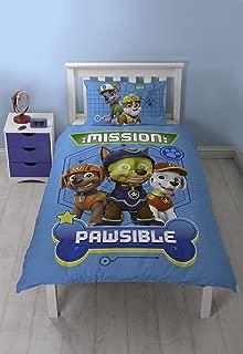 Paw Patrol Childrens/Kids Official Spy Reversible Comforter Cover Bedding Set