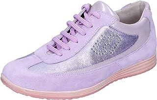 balducci Sneaker Bambina Pelle Scamosciata Viola