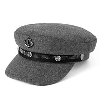 SIYWINA Ballongmössa dam 2020 ny toppmössa baskermössa mössa Visor bakerboy hatt