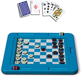 Swimline Pool Toys Set Of 2 Games And A Bag: Floating Game Board And Waterproof Playing Cards