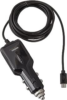 AmazonBasics 5 Feet Micro USB Universal Car Charger for Android (Black)