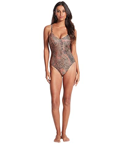 Seafolly Wild Ones DD-Cup Sweetheart One Piece Women