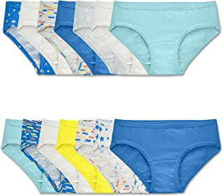 Fruit of the Loom Girls' Cotton Hipster Underwear