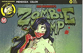 Zombie Tramp #51 Axebone Nude Cover D Variant Edition Comic Book