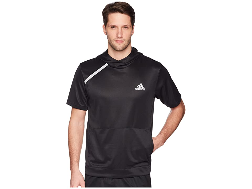 adidas Sport Shooter Tee with Hoodie (Black) Men
