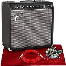 Fender Champion 40-40-Watt Electric Guitar Combo Amplifier Bundle