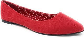 Charles Albert Women's Pointed-Toe Slip-On Comfort Fit Ballet Flat