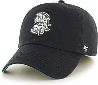 '47 NCAA Michigan State Spartans Franchise Fitted Hat, Black 2, Large