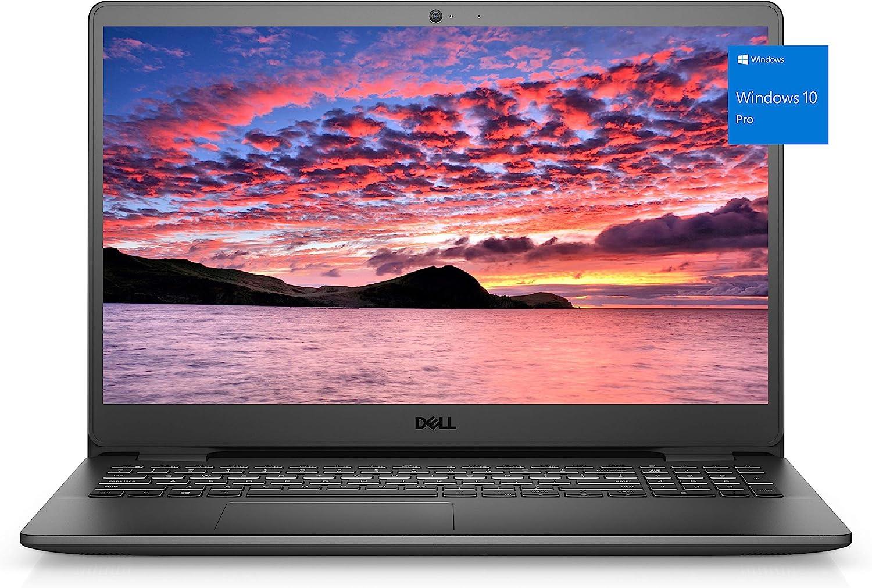 2021 Newest Dell Inspiron 3000 Laptop, 15.6 HD Display, Intel Celeron Processor N4020, 16GB DDR4 RAM, 512GB PCIe Solid State Drive, Online Meeting Ready, Webcam, WiFi, HDMI, Win10 Pro, Black