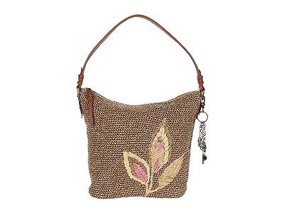 The Sak Sequoia Crochet Hobo (Tea Leaf Embroidery) Hobo Handbags