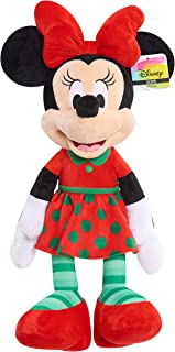 Disney 15177 Minnie Mouse Holiday 2018 Plush, Multicolor