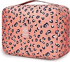 Archile Hanging Toilettas Waszak Make-up Cosmetische Organisator voor Dames Meisjes Kinderen Waterdicht (A-Large Flamingo)...