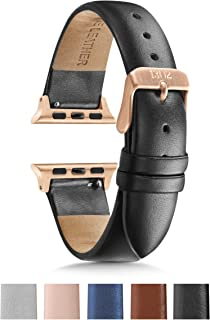 1302 Compatible for Apple Watch Band 38mm 40mm, Women's Apple Band, iWatch Apple Watch Series 5 Series 4 Series 3 Series 2 Series 1, Sport, Gold Apple Watch, Rose Gold Women's Apple Watch Band