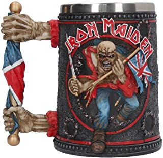 Nemesis Now Iron Maiden Tankard  Mug 14cm Black