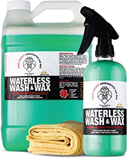 Shine Society Waterless Wash and Wax Value Pack, Cleans Vehicles Without Water and Adds a Super Shine Finish, Safe and Finishes, Eco-Friendly