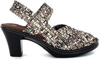 B M BERNIE MEV NEW YORK Women's Jinx sandały na obcasie z obcasem, wygodne, na co dzień, wkładka z pianki memory, absolutn...