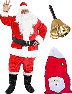 1feefc44f5ab2 ILOVEFANCYDRESS Déguisement pour Adulte avec ce Costume de Père Noël de Luxe  en 9 pièces.