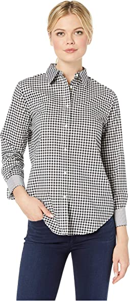 Non Iron Broadcloth Long Sleeve Shirt