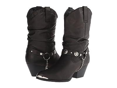 Dingo Olivia (Black) Cowboy Boots