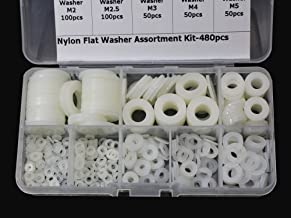 Best white flat washers Reviews