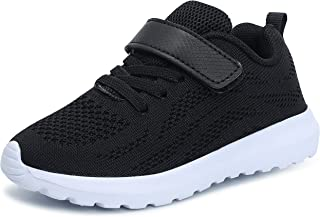 adituo Kids Lightweight Tennis Sneakers Boys and Girls Cute Casual Sport Shoes(Toddler/Little Kid/Big Kid)