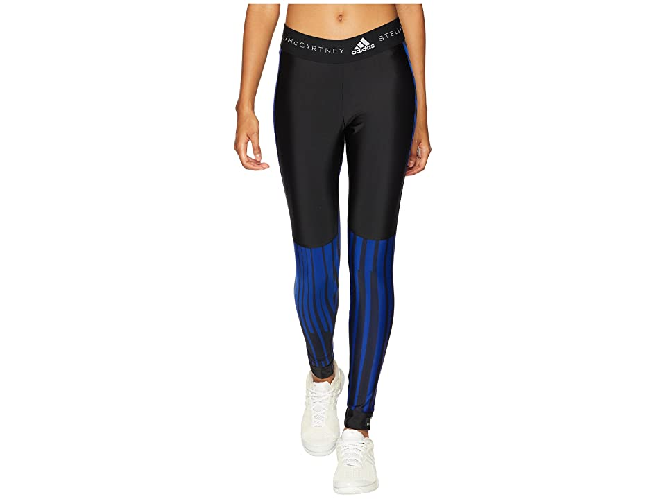 adidas by Stella McCartney Run Printed Tights CG0146 (Mystery Ink/Black) Women