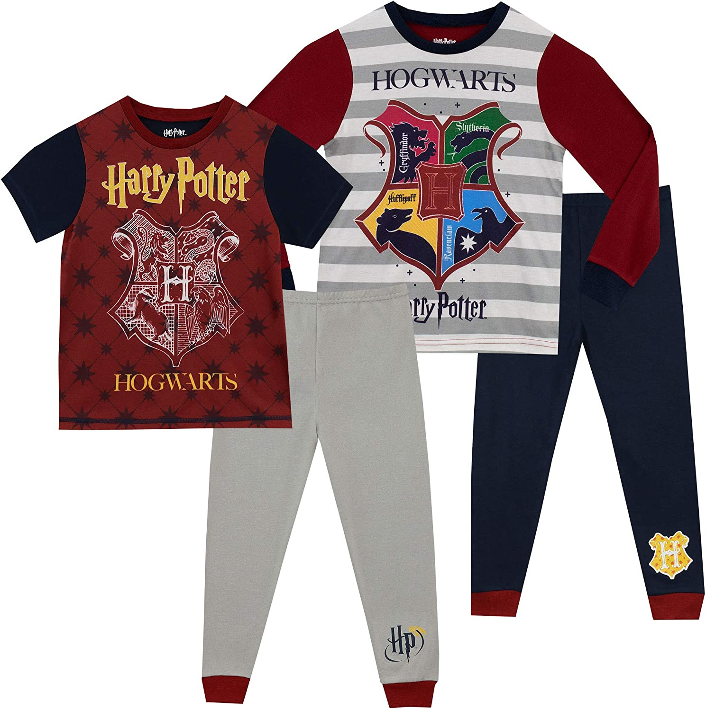Harry Potter Boys' Hogwarts Pajamas 2 Pack