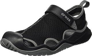 Crocs Swiftwater Mesh Deck Sandal Men, Sandales à Bout Fermé Homme