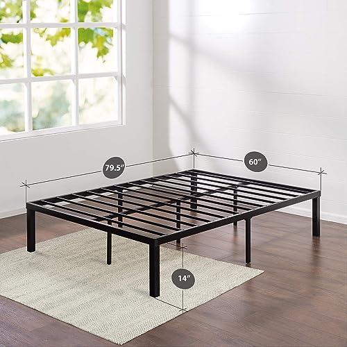 Zinus Luis Quick Lock Metal Full Size Platform Bed Frame
