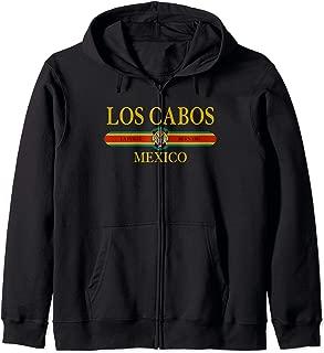 Los Cabos Mexico Baja California Travel Vintage Los Cabos Zip Hoodie