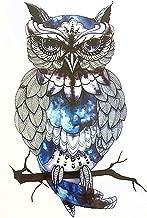 HOT! Snowy Owl Hedwig Design Large Arm Tattoo Sleeve Flash Temporary Tattoo Sticker 21x15cm Waterproof Henna Tattoo Women Body Art